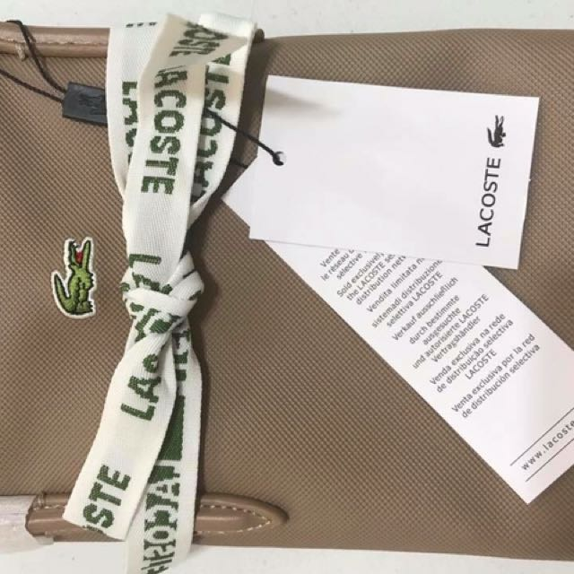 Lacoste closed up photo