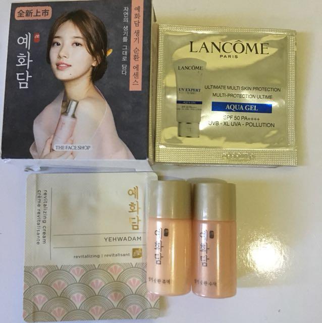 Lancome + The Face Shop