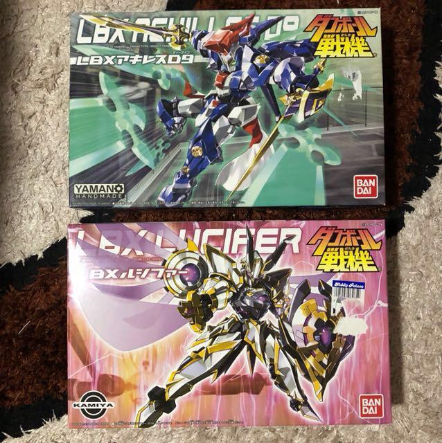 Lbx Achilles D9 And Lbx Lucifer Model Kits Toys Games Bricks