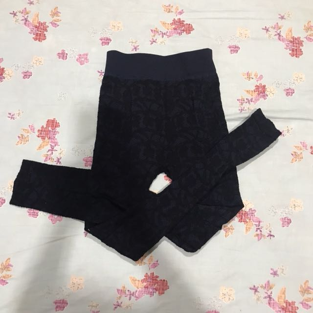 Legging Dark blue broklat