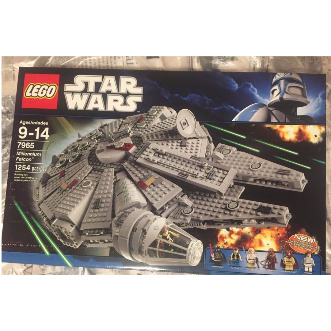LEGO - Star Wars Millennium Falcon #7965 (Retired Product)