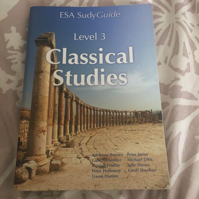 Level 3 Classical Studies ESA Study Guide