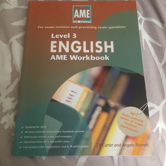 Level 3 English AME Workbook