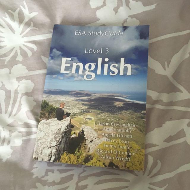 Level 3 English ESA Study Guide