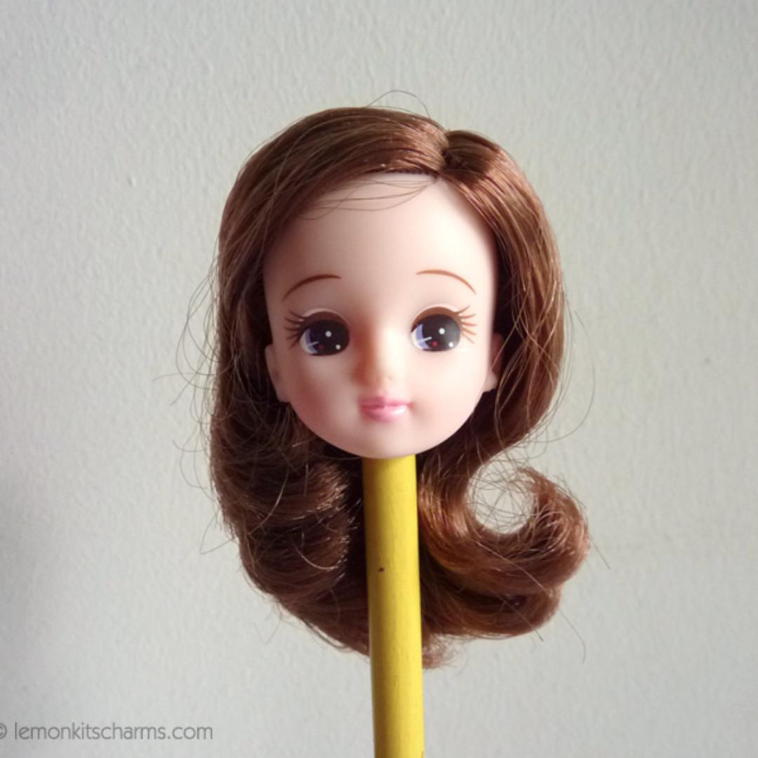 Licca doll head