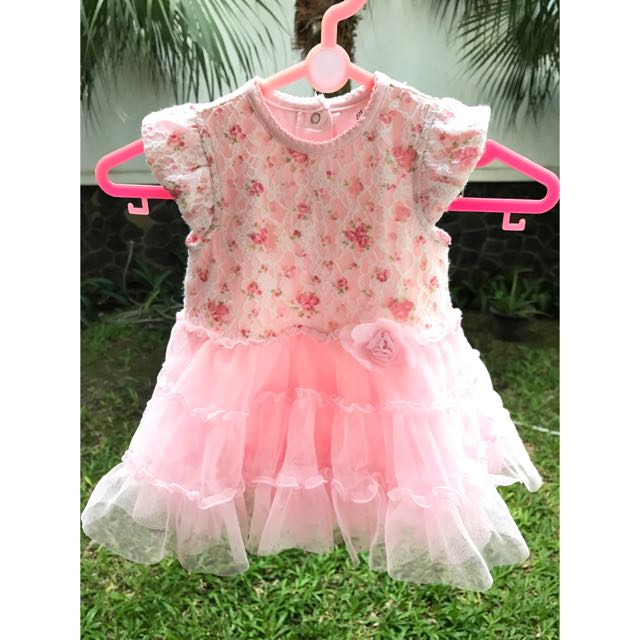 Little me girls tutu & popover