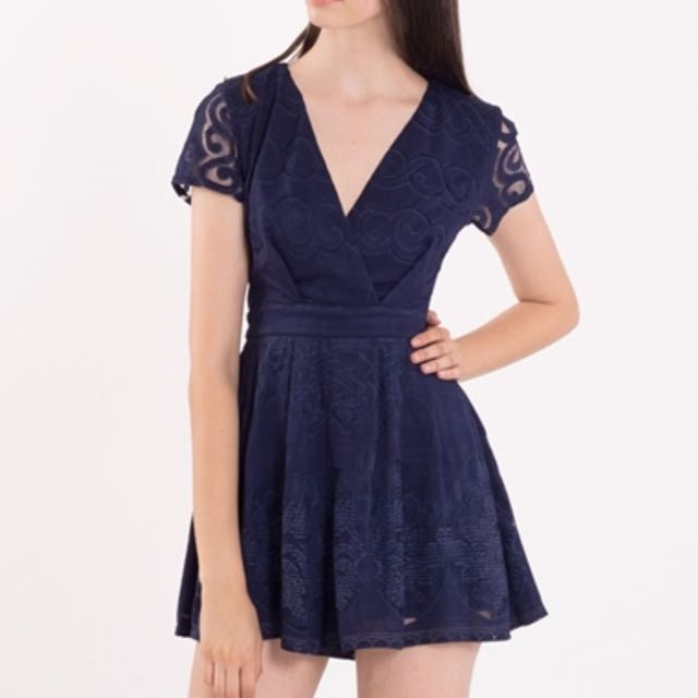 LOOKING FOR: Doublewoot Ditella Romper (Navy)(M size)