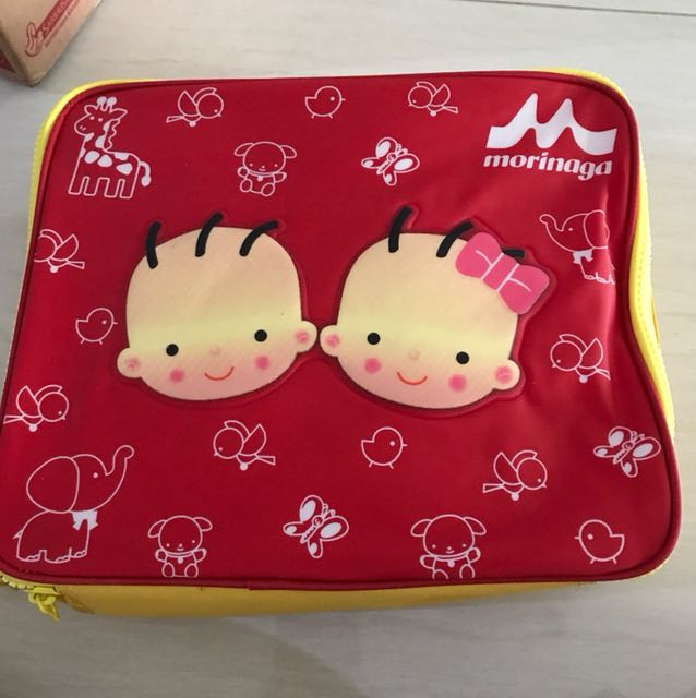 Lunch box set - morinaga
