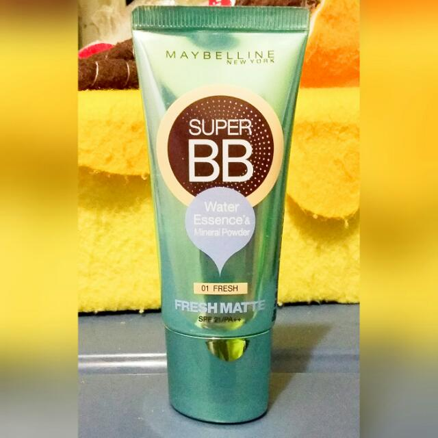 Maybelline Super BB Fresh Matte Cream Shade 01 Fresh