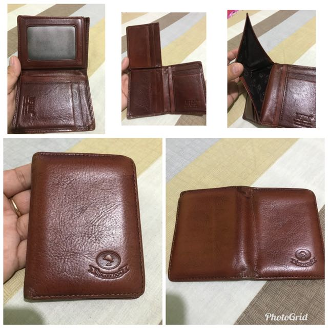 mcjim leather wallet