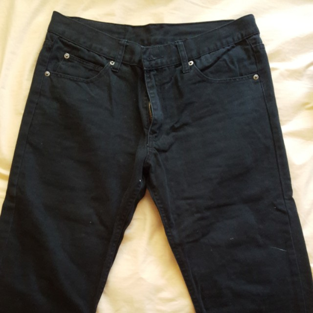 Men black cheap Monday jeans
