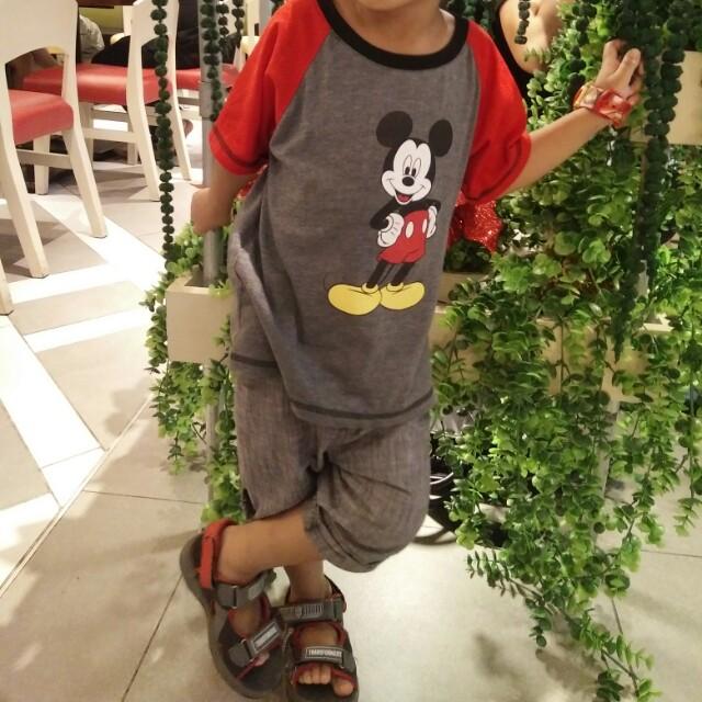 H&m tokong & mickey mouse shirt bundle