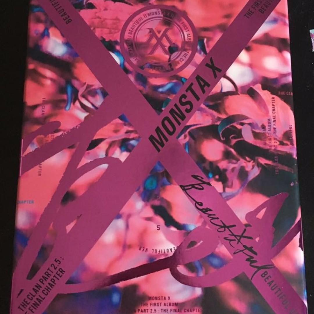 Monsta x the clan 2.5 beautiful album
