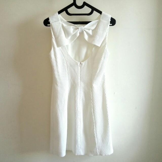 Miss Selfridge White Dress preloved
