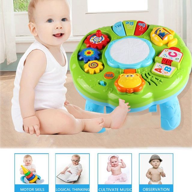 Musical Activity Table Baby Toy