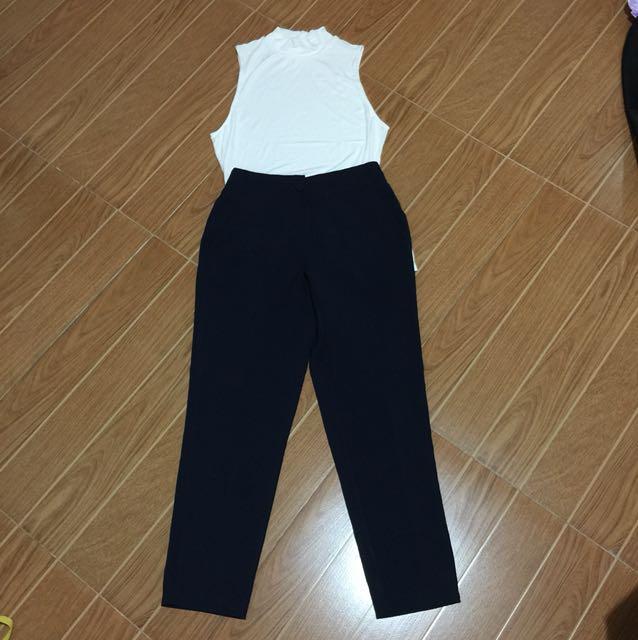 Navy blue trouser freesize