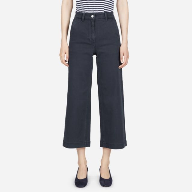 Navy Everlane Pants