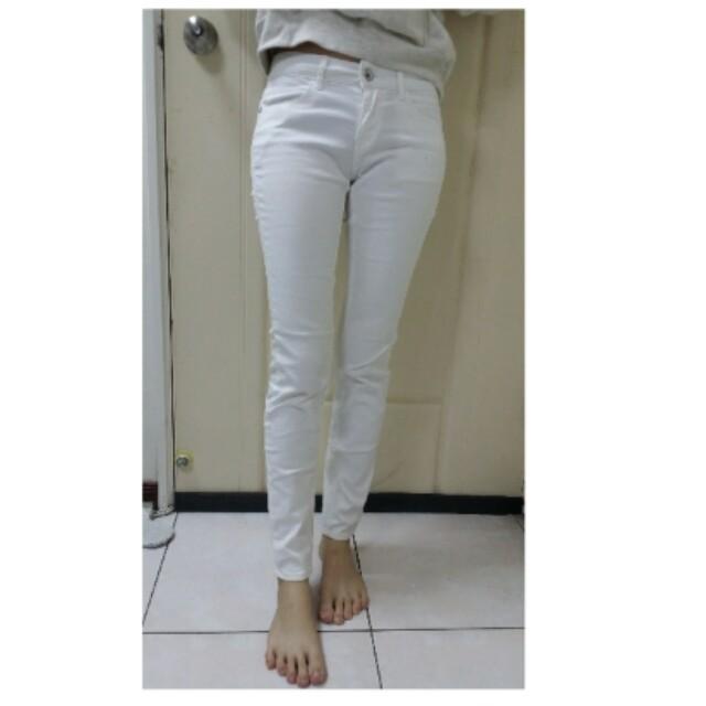 NET白色長褲