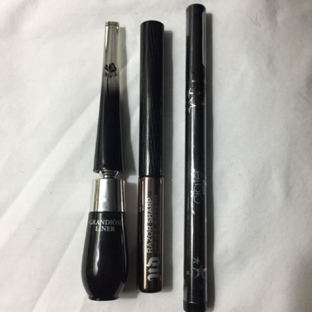 NEW LIQUID EYELINERS HIGH END
