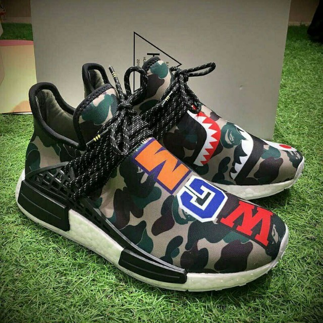 buy popular bc1ad e9daa NMD pw Human Race 'Wgm Bape'