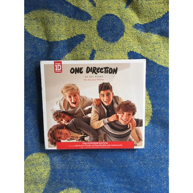 One Direction Up All Night The Souvenir Edition
