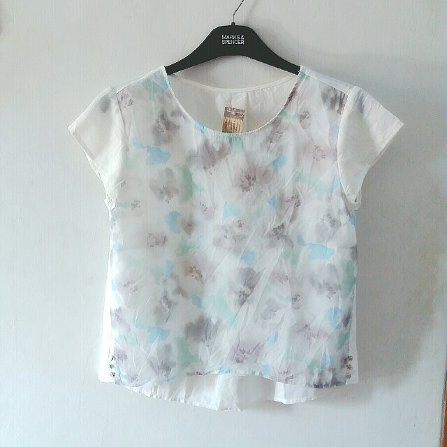 Painted Blouse