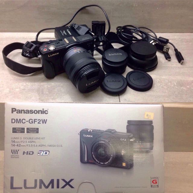 Panasonic LUMIX dmc gf2w