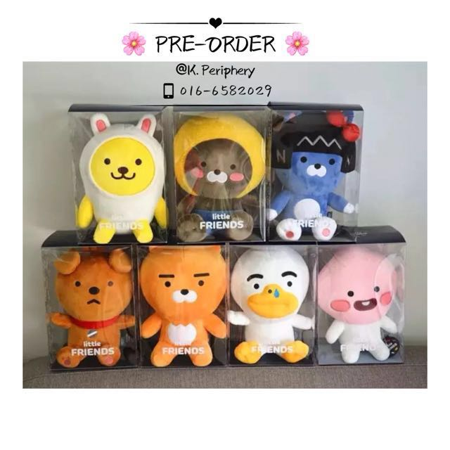 [PO] Kakaofriend Little Friends Doll
