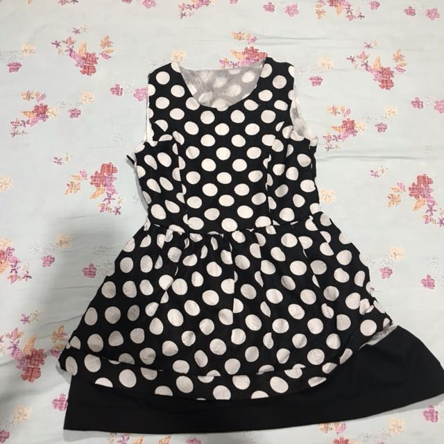 Polka semi dress