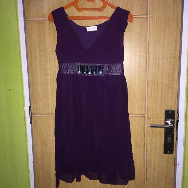 Purple Dress By MOST
