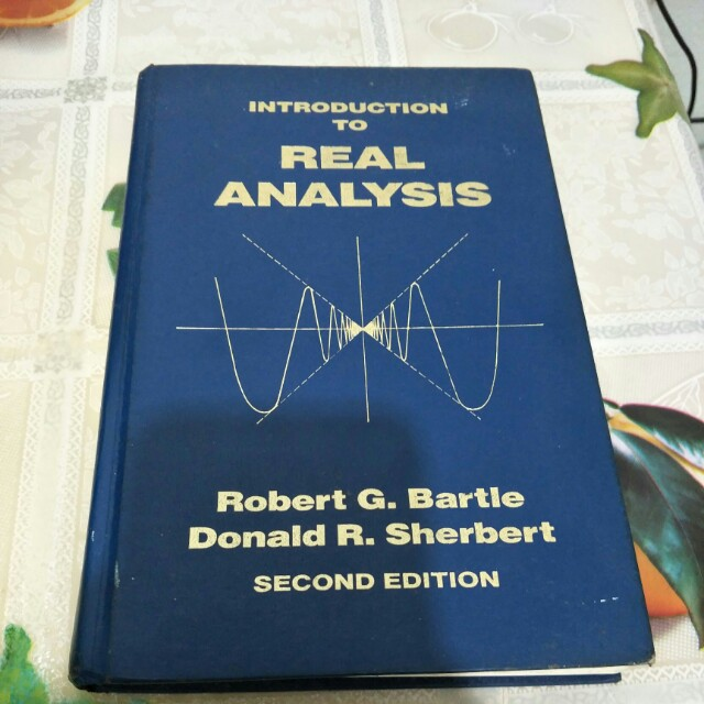 Real analysis textbook, Books & Stationery, Textbooks on