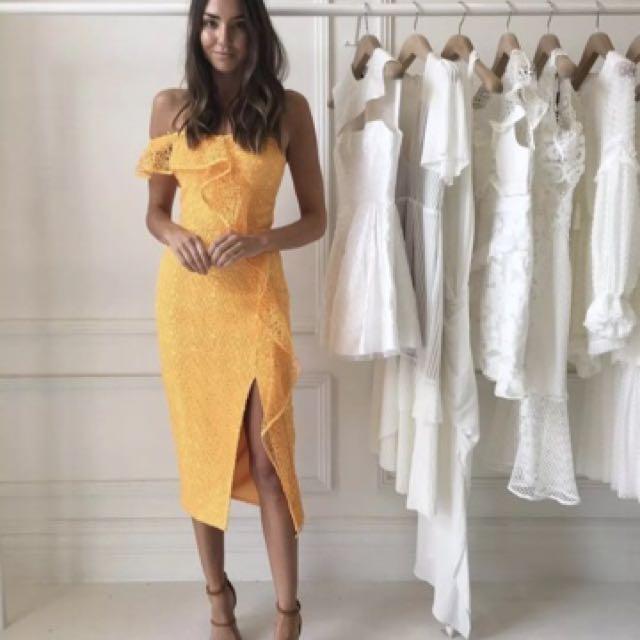 Rebecca Vallance Baha Lace Dress