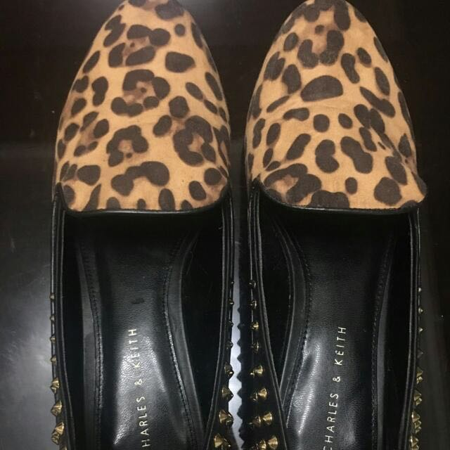 REPRICED Charles and Keith Studded Loafers
