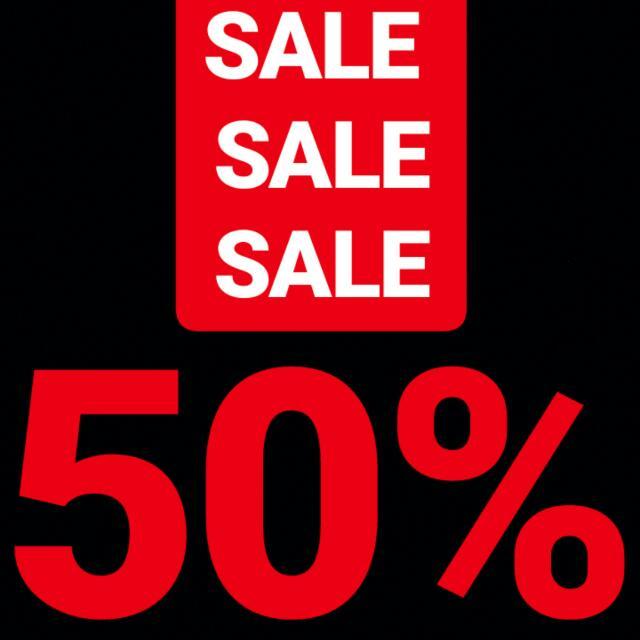 SALE SALE SALE! 50% Discount!