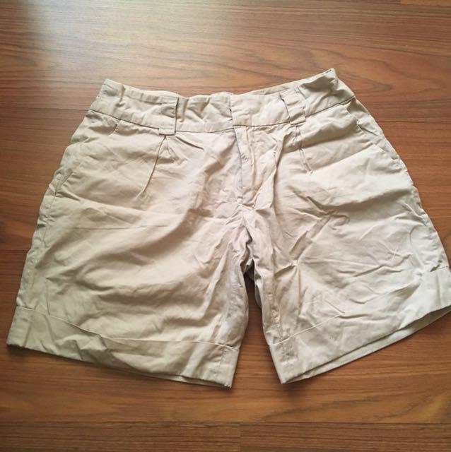 Seed khaki preppy shorts