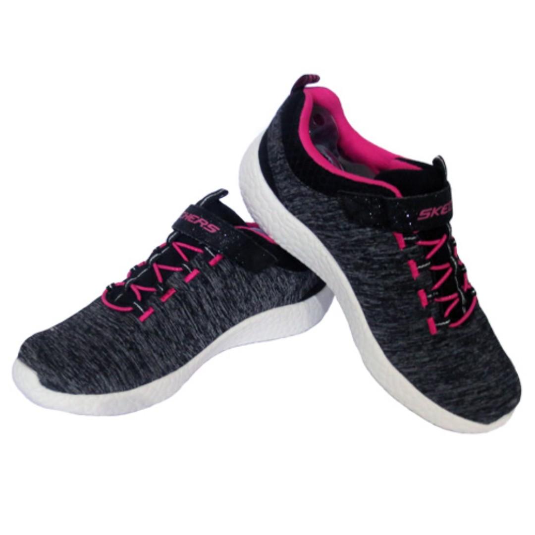Sepatu Anak Perempuan Skechers Burst Equinox Black Pink Olshop Warna Fashion Wanita On Carousell