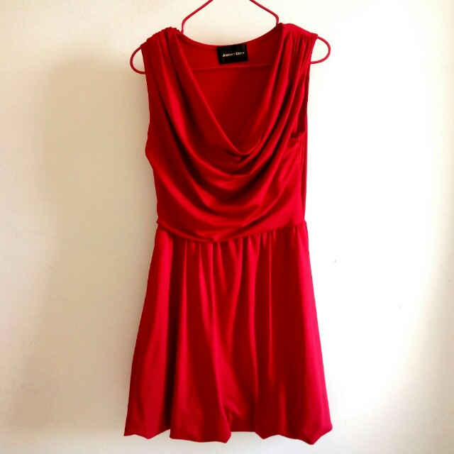 Sexy Red Cocktail Dress preloved