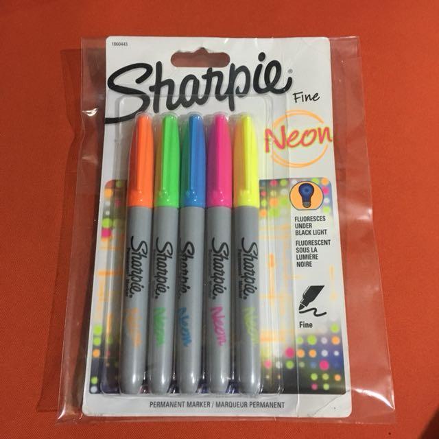 Sharpie Neon Fine