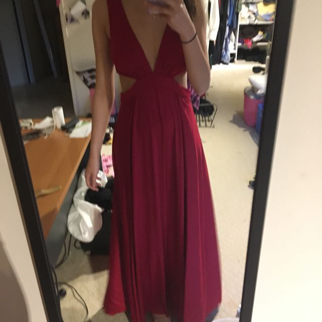 Showpo Formal Dress in Red