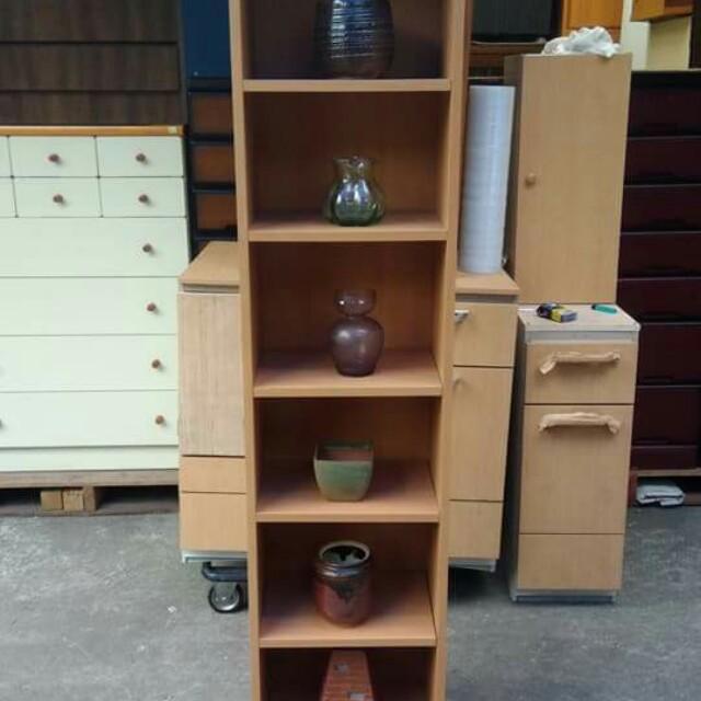 Slim Display Cabinet / Book Shelves