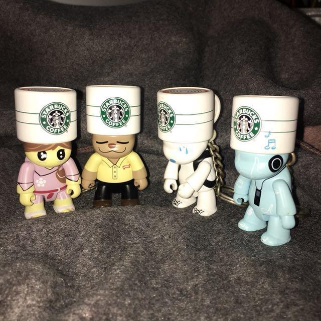 Starbucks 星巴克 星偶像公仔 TOY2R庫柏力克熊 絕版收藏品