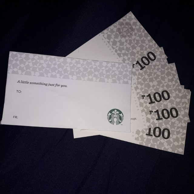 Starbucks gc ticketsvouchers gift cards vouchers on carousell photo photo photo colourmoves