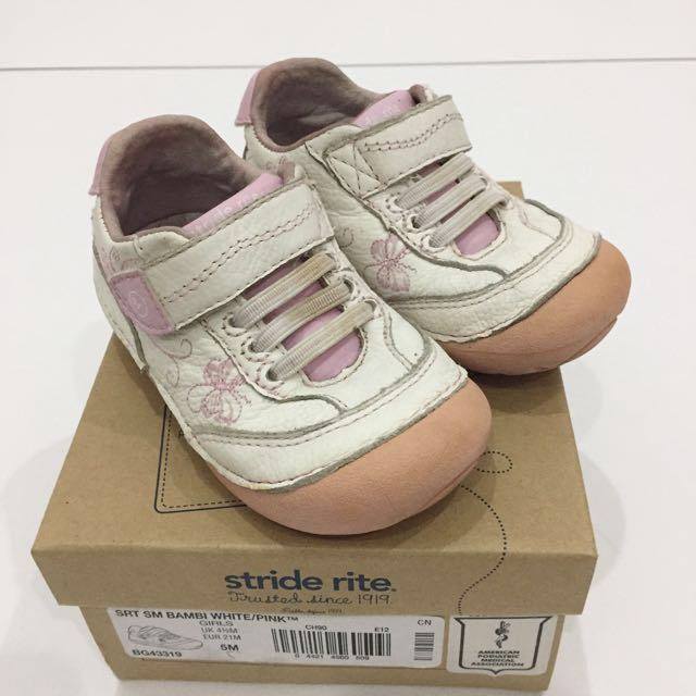 Stride Rite White-Pink Shoes