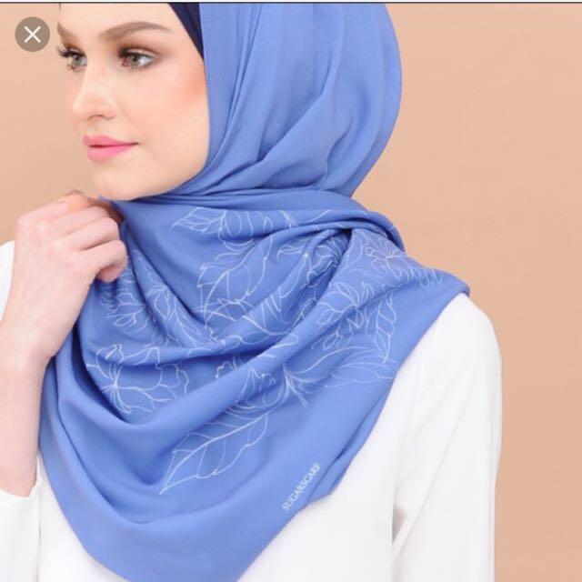 Sugar scarf pure