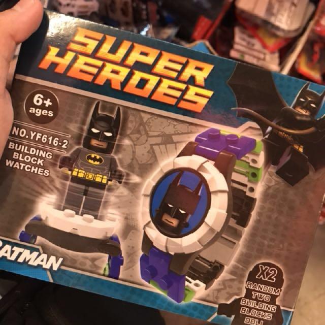 Superhero Brick Watch