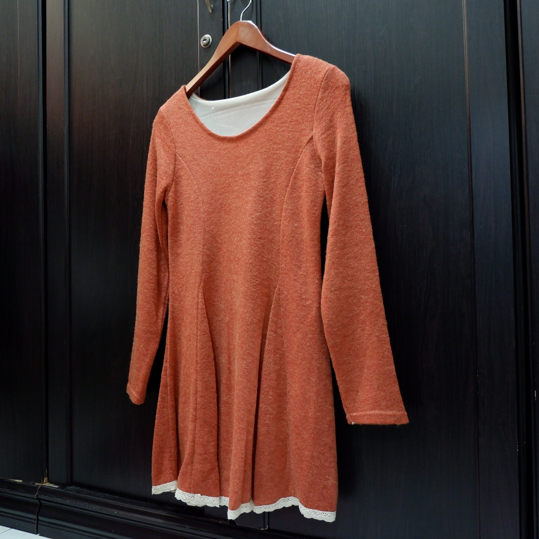 Sweater Dress (Beli di Singapore)