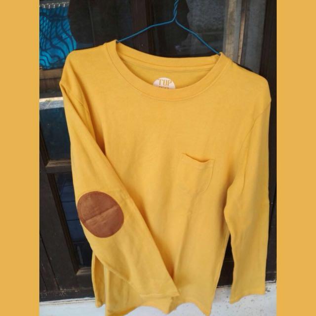 sweatshirt yellow toptoe
