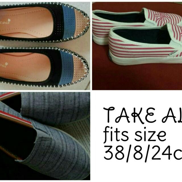 TAKE ALL Flat shoes