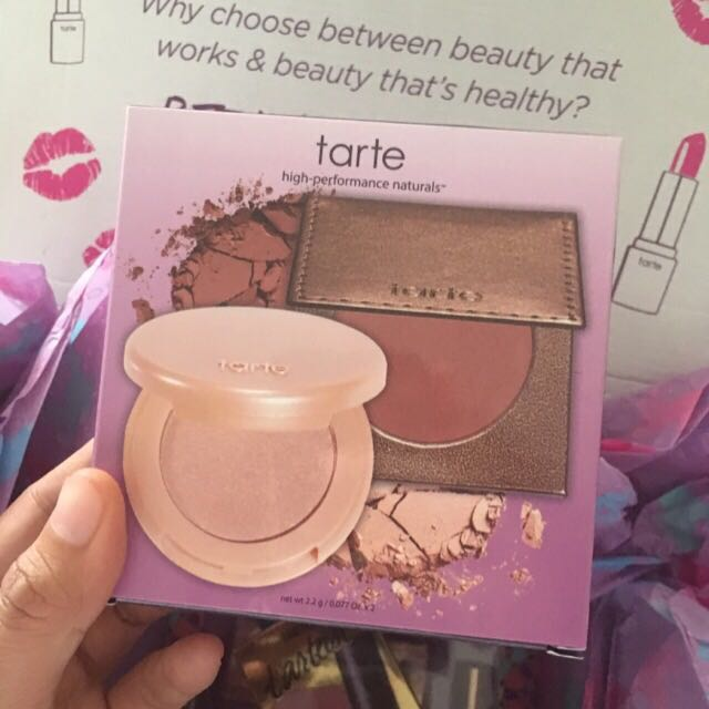 Tarte limited edition glow girls bronze and highlight duo