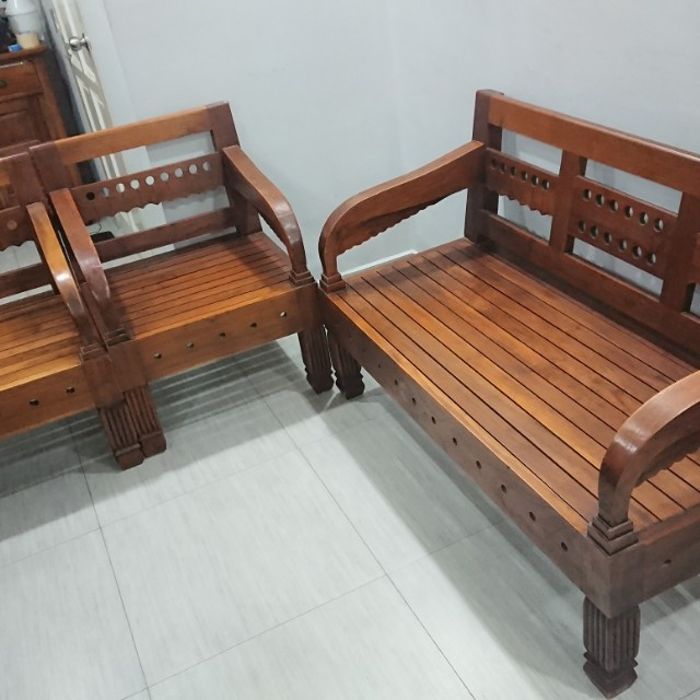 Teak Wood Sofa ~ Teakwood sofa teak wood designs luxury style wooden
